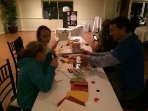 Seeds for Success' Executive Director, John Palinski creates Thanksgiving cards.